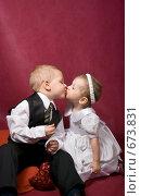 Купить «Поцелуй», фото № 673831, снято 9 января 2009 г. (c) Александр Чистяков / Фотобанк Лори