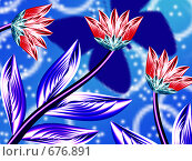 Купить «Цветы», иллюстрация № 676891 (c) Анжелика Самсонова / Фотобанк Лори