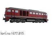 Купить «Красный поезд», иллюстрация № 677815 (c) ИЛ / Фотобанк Лори