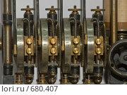 Механизм аналогового компьютера. Стоковое фото, фотограф Андрей Вуколов / Фотобанк Лори