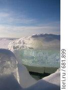 Купить «Льды», фото № 681899, снято 25 января 2009 г. (c) Пудов Павел / Фотобанк Лори