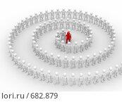 Купить «Концепция командной работы», иллюстрация № 682879 (c) Ильин Сергей / Фотобанк Лори
