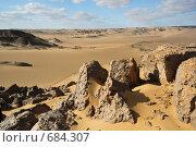 Купить «Пустыня Сахара, Египет», фото № 684307, снято 25 декабря 2008 г. (c) Знаменский Олег / Фотобанк Лори