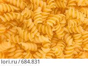 Спиральные макароны. Стоковое фото, фотограф Андрей Чмелёв / Фотобанк Лори
