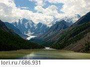 Купить «Озеро Маашей. Горный Алтай», фото № 686931, снято 22 июля 2008 г. (c) Селигеев Андрей Иванович / Фотобанк Лори