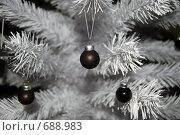Новогодняя елка. Стоковое фото, фотограф Елена Панова / Фотобанк Лори