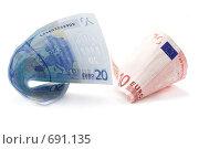 Купить «Евро», фото № 691135, снято 21 января 2009 г. (c) Руслан Кудрин / Фотобанк Лори