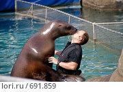 Купить «Морской лев», фото № 691859, снято 17 мая 2008 г. (c) Eduard Panov / Фотобанк Лори