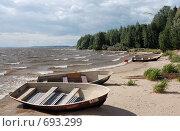 Остров в Московском море (2007 год). Стоковое фото, фотограф Китаев Олег Александрович / Фотобанк Лори