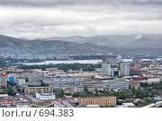 Купить «Красноярск. Вид с караульной горы», фото № 694383, снято 5 сентября 2008 г. (c) Parmenov Pavel / Фотобанк Лори
