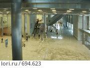 Купить «Холл современного здания», фото № 694623, снято 23 февраля 2008 г. (c) Литова Наталья / Фотобанк Лори