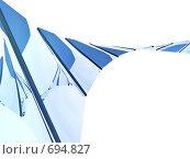 Купить «Трехмерные панели», иллюстрация № 694827 (c) Михаил Белков / Фотобанк Лори