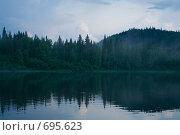 Купить «Вечер на Вишере», фото № 695623, снято 11 июля 2008 г. (c) Максим Стриганов / Фотобанк Лори