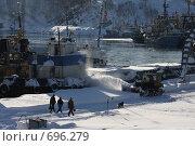 После пурги (2009 год). Редакционное фото, фотограф Владимир Бондаренко / Фотобанк Лори