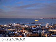 Таллинский пассажирский порт (2009 год). Редакционное фото, фотограф Андрей Григорьев / Фотобанк Лори