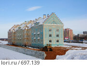 Купить «Новостройки в Йошкар - Оле», фото № 697139, снято 10 февраля 2009 г. (c) Татьяна Лепилова / Фотобанк Лори