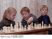 Купить «Сеанс одновременной игры», фото № 698091, снято 10 октября 2008 г. (c) Игорь Бунцевич / Фотобанк Лори
