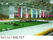 Купить «Дворец ледовых видов спорта», фото № 698107, снято 19 января 2009 г. (c) Купченко Владимир Михайлович / Фотобанк Лори