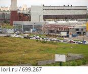 Городская тепловая электрическая станция. Стоковое фото, фотограф Венюков Вячеслав / Фотобанк Лори