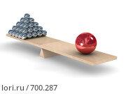 Купить «Баланс», иллюстрация № 700287 (c) Ильин Сергей / Фотобанк Лори