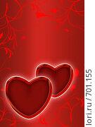 Купить «Фон ко дню Святого Валентина», иллюстрация № 701155 (c) Лищук Руслан Викторович / Фотобанк Лори