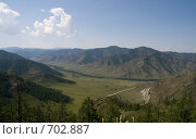 Вид с перевала Чике-Таман. Стоковое фото, фотограф Дмитрий Федяков / Фотобанк Лори