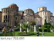 Купить «Турция, Стамбул. Монастырь Пантократора (Молла Зейрек джами, или мечеть Муллы Зейрека) XII в.», фото № 703091, снято 22 октября 2008 г. (c) Румянцева Елена / Фотобанк Лори