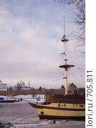 Корабль (2009 год). Стоковое фото, фотограф юлия юрочка / Фотобанк Лори
