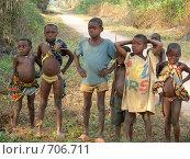 Дети пигмеев (2007 год). Редакционное фото, фотограф Ольга Морозова / Фотобанк Лори