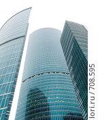 Купить «Москва - Сити. Строительство делового центра», фото № 708595, снято 17 февраля 2009 г. (c) Кирпинев Валерий / Фотобанк Лори