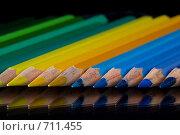 Купить «Цветные карандаши», фото № 711455, снято 18 февраля 2009 г. (c) Goruppa / Фотобанк Лори