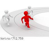 Купить «Бег по кругу», иллюстрация № 712759 (c) Ильин Сергей / Фотобанк Лори