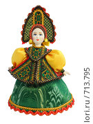 Купить «Кукла в русском национальном костюме», фото № 713795, снято 19 февраля 2009 г. (c) Анастасия Семенова / Фотобанк Лори