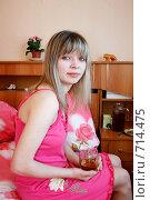 Купить «Девушка плачет от боли», фото № 714475, снято 21 февраля 2009 г. (c) Татьяна Лепилова / Фотобанк Лори
