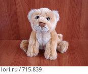 Львенок мягкая игрушка (2009 год). Редакционное фото, фотограф Егоров Алексей / Фотобанк Лори