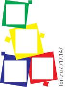 Рамка для фотографий. Стоковая иллюстрация, иллюстратор Марина Кириленко / Фотобанк Лори