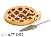 Купить «Пирог с вишневым джемом», фото № 718655, снято 22 февраля 2009 г. (c) Андрей Рыбачук / Фотобанк Лори