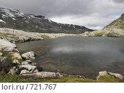 Купить «Горное озеро», фото № 721767, снято 4 августа 2008 г. (c) Харитонова Ольга / Фотобанк Лори