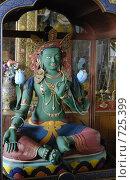 Купить «Буддийское божество Зеленая Тара, статуя, Иволгинский дацан, Бурятия», фото № 725399, снято 22 апреля 2008 г. (c) Александр Подшивалов / Фотобанк Лори