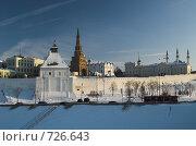 Купить «Казань. Казанский кремль», фото № 726643, снято 27 января 2009 г. (c) Andrey M / Фотобанк Лори