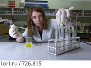 Купить «Постановка эксперимента в лаборатории», фото № 726815, снято 12 марта 2007 г. (c) Сергей Пономарев / Фотобанк Лори