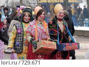 Купить «Маскарад на масленицу», фото № 729671, снято 1 марта 2009 г. (c) Игорь Бунцевич / Фотобанк Лори