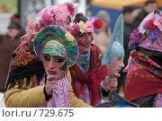 Купить «Маскарад на масленицу», фото № 729675, снято 1 марта 2009 г. (c) Игорь Бунцевич / Фотобанк Лори