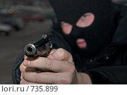 Купить «Войска специального назначения», фото № 735899, снято 5 февраля 2009 г. (c) Евгений Поздняков / Фотобанк Лори