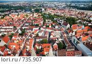 Купить «Типичный европейский город с высоты птичьего полета. Ульм, Германия», фото № 735907, снято 19 августа 2007 г. (c) Александр Телеснюк / Фотобанк Лори