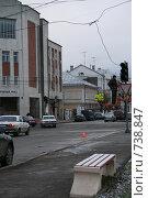 Ремонт светофора. Тверь (2008 год). Редакционное фото, фотограф Анна Дегтярёва / Фотобанк Лори