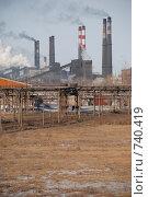 Завод коксохим. Стоковое фото, фотограф Школьников Павел Викторович / Фотобанк Лори