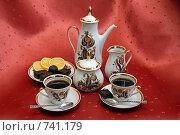 Черный кофе на двоих. Стоковое фото, фотограф Владимир Сергеев / Фотобанк Лори