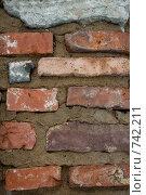 Древняя кладка. Стоковое фото, фотограф юлия юрочка / Фотобанк Лори