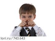 Купить «Ребенок кривляется», фото № 743643, снято 26 мая 2018 г. (c) Алексей Ведерников / Фотобанк Лори